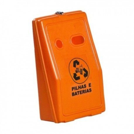 Lixeira para Pilhas e Baterias
