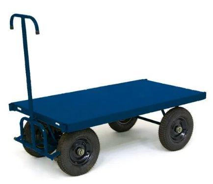Carro Plataforma Lastro em Chapa