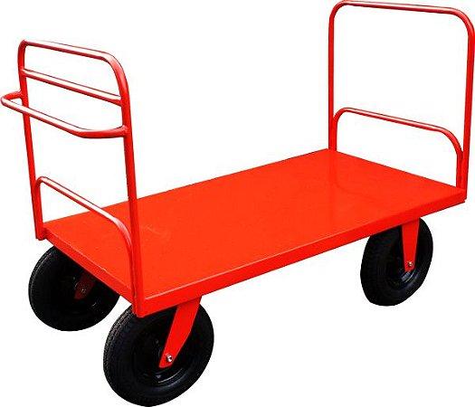 Carro Plataforma com 2 Abas