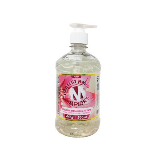 Álcool Gel Antisséptico para Mãos 70% INPM 500 ml Meyors