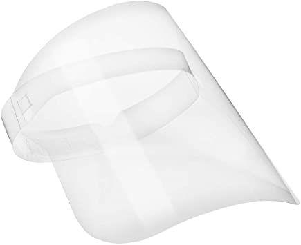 Máscara Protetora Facial - Face Shield em PET cristal