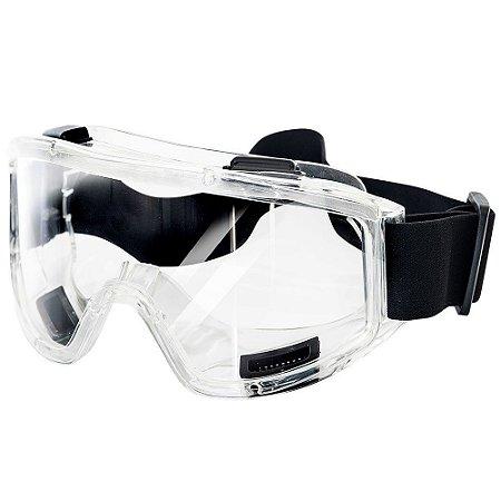 Óculos Ampla Visão ROSS 128 com 4 Válvulas - Plastcor