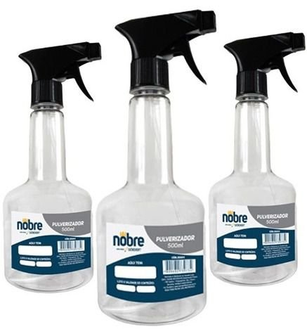 Pulverizador Pet 500ml - Nobre
