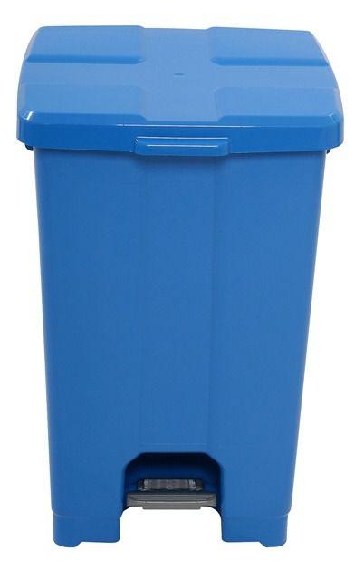Lixeira Plástica Quadrada com Pedal 60 litros - JSN