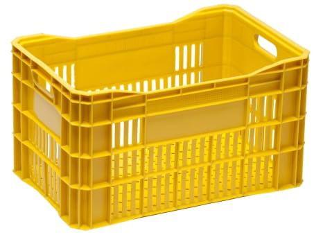 Caixa Plástica Vazada para Hortifrúti