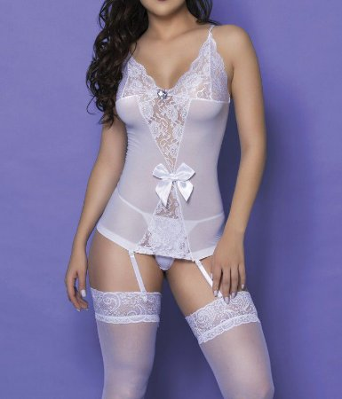 Mini Vestido com Meia 7/8 Yaffa (Y9022)