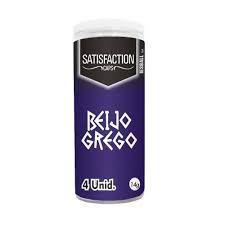 BOLINHA QUADRIBALL BEIJO GREGO 04 UNIDADES SATISFACTION