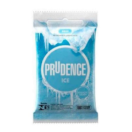 PRESERVATIVO PRUDENCE ICE GELADO