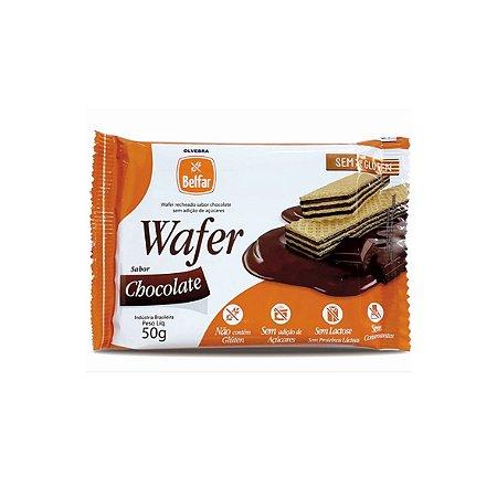 Wafer de Chocolate Belfar 50g
