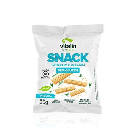 Snack Salgado Gergelim Alecrim Integral Vitalin 25g