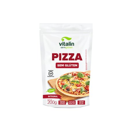 Mistura para Pizza Integral Vitalin 200g