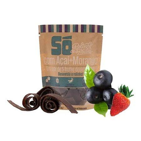 Rolinho de Frutas Açaí e Morango SóSnacks 30g