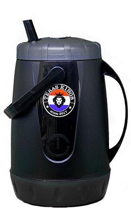 Garrafa Térmica Preta - 2,5 Litros