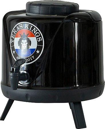 Botijão Térmico Preto - 5 Litros