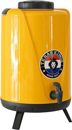 Botijão Térmico Amarelo - 10 Litros