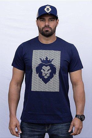 Camiseta Teras Kings Leão Azul Marinho