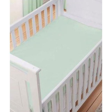 Lençol Verde Liso 100% algodão - Carícia Baby Malhas