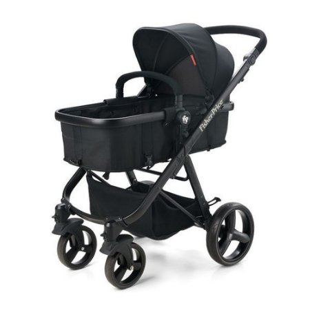 Carrinho de Bebê Fisher Price Berço Com Moisés Hero - BB593