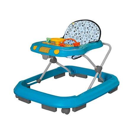 Andador Infantil de Bebê Safari Azul - Tutty Baby