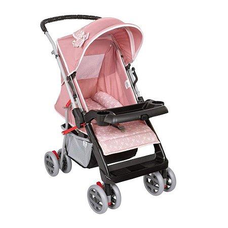 Carrinho De Bebê Tutti Baby Thor - Rosa Coroa