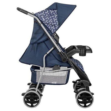 Carrinho de Bebê Tutti Baby Thor Plus - Azul New
