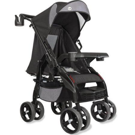 Carrinho de Bebê Tutti Baby Upper - Preto