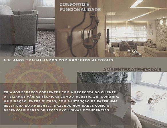 Projeto de Arquitetura e Design - Apto, Casa ou Empresarial