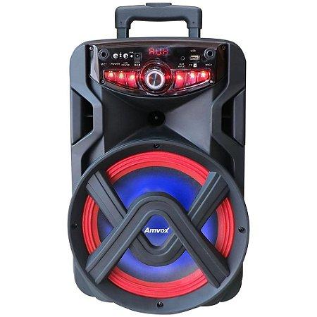 Caixa de Som Amplificada Amvox ACA 250 Groove com Bluetooth, Rádio FM, USB - 250W