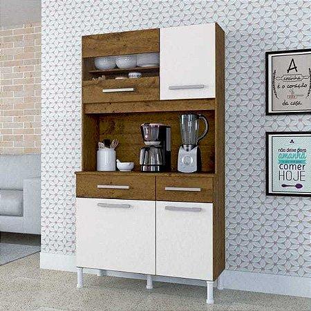 Cozinha Compacta Anápolis 4 Portas 2 Gavetas Linha Criative Atualle Móveis