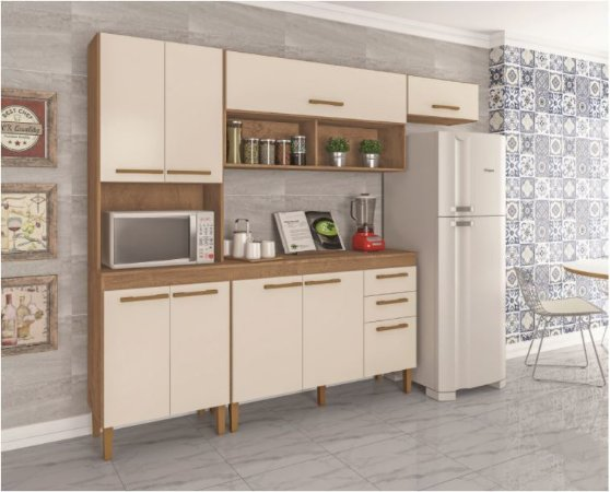 Cozinha Modena + Balcão Modena