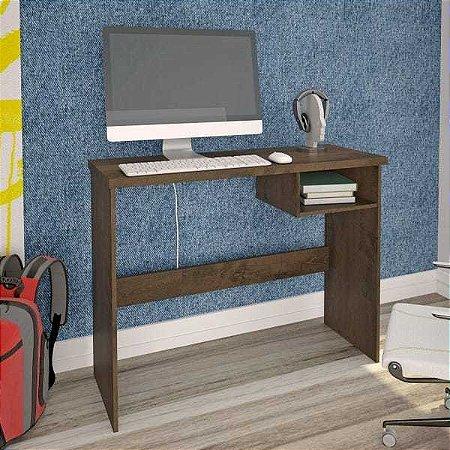 Escrivaninha 1 Nicho Detroit Atualle Móveis Mocaccino Rústico