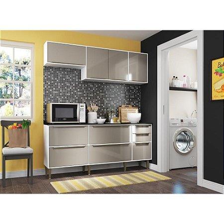 Cozinha Completa c/ Armário e Balcão Nice Multimóveis