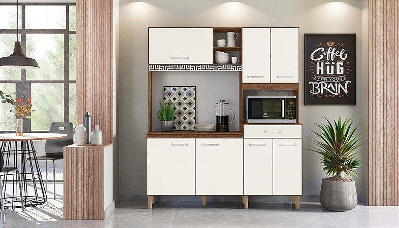 Kit Cozinha Yara 160 7 Portas e 1 Gaveta