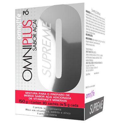 OMNIPLUS SUPREME ACAI, CX COM 30 SACHES, 150 GR - OMNILIFE