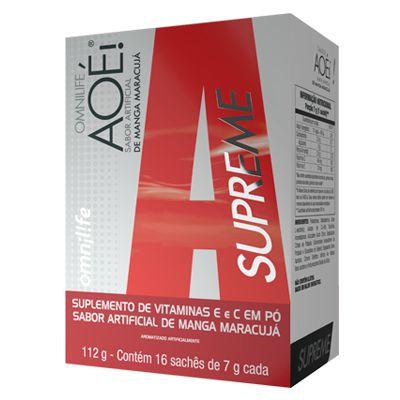 AOÉ SUPREME, CX 16 SACHES - OMNILIFE