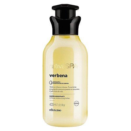 Loção Hidratante Desodorante Corporal Nativa SPA Verbena 400ml