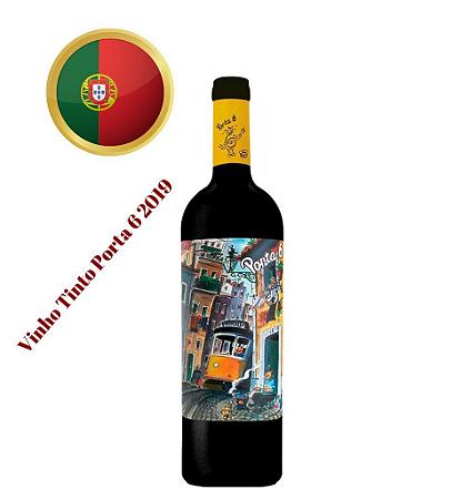 Vinho Tinto Porta 6 2019