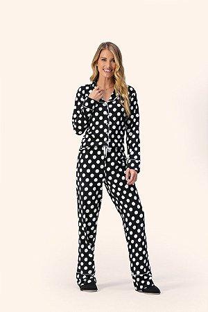 Pijama Feminino Abraços Lua Encantada