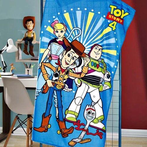 Toalha de Banho Infantil Velour Toy Story Dohler