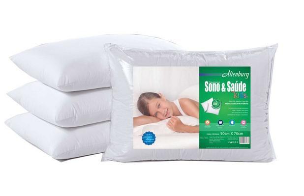 Travesseiro Sono & Saúde Kids 50x70cm Altenburg