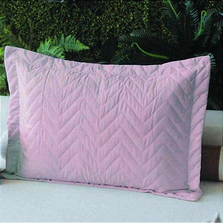 Porta Travesseiro Microfibra Rose Fox