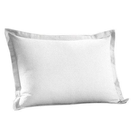 Porta Travesseiro Piquet Branco Dohler