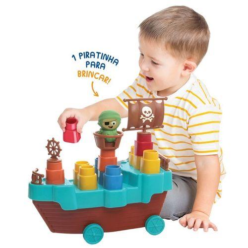 Fofo Blocos Barco Pirata Elka