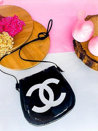 Mini Bag Chanel Preta