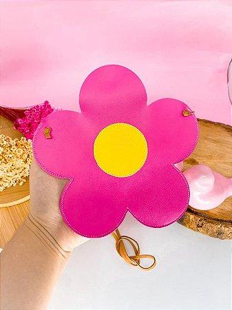 Mini Bag Flor Pink