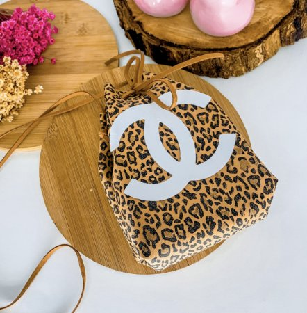 Mini Bag Channel - Animal Print