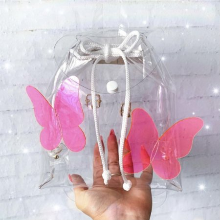 Mochila Butterfly Cristal