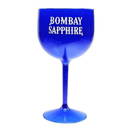 Taça Gin Tônica Bombay Sapphire Azul Escuro Acrilico 600ml