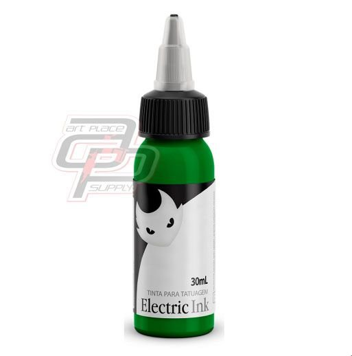 Tinta Verde Claro - 30ml Electric Ink