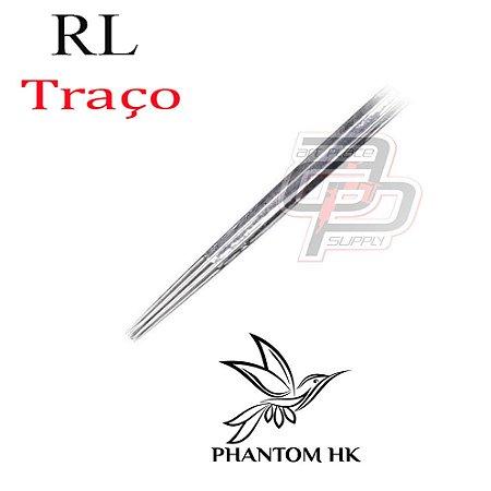 Agulhas Phantom HK Traço /  Round Liner - 1 Unidade